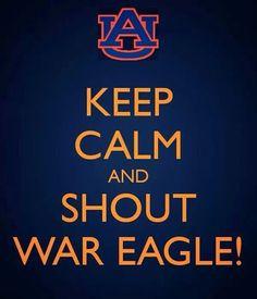 Keep Calm Auburn