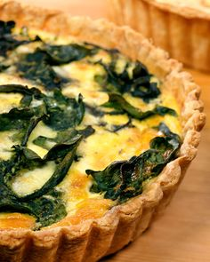 Swiss Chard Quiche- we got a big bag of chard and 2 dozen eggs from the CSA this week- I think this will be on the menu soon...with some bacon added just for fun =)