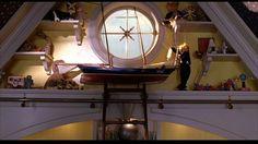 Bedroom window, Stuart Little dir. Set Decoration Clay A. Stuart Little, Victorian Windows, Tv Sets, Mini Houses, Room Window, Practical Magic, Haunted Mansion, New Room, Art Direction