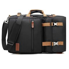 LOKASS Top Sale on Amazon 17.3 Or 15.6 Inches 3 Styles Carry Waterproof Messenger Laptop Bag Backpack For Women/Man  * Easy to clean, and scratch-proof.  * Lightweight design is easy for carrying  * Three carrying styles: backpack, shoulder bag and messenger bag  * There is shockproof cotton between the bags.