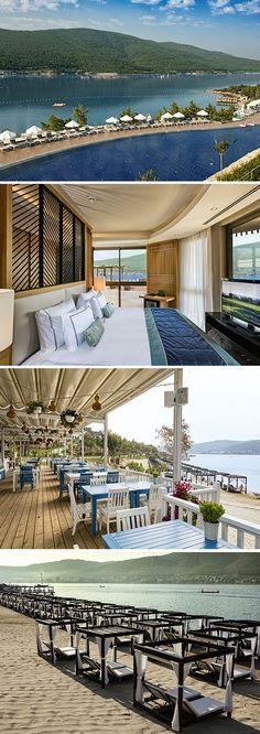 Het vijfsterren Titanic Deluxe Bodrum is een superdeluxe hotel nabij de Turkse badplaats Bodrum. Beleef een zorgeloze vakantie dankzij de all inclusive formule en de vele faciliteiten die het moderne hotel biedt. Wat dacht je van een wellness- en fitnesscentrum, meerdere (kinder)zwembaden, glijbanen, een miniclub en animatieprogramma?