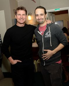Lin and Tom Cruise