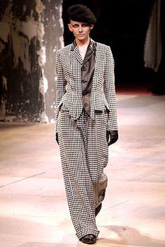 f14f4e77827 The World Through Fashion. Yohji Yamamoto Fall 2003 Ready-to-Wear Fashion  Show