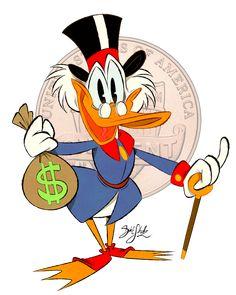 Uncle Scrooge by Themrock.deviantart.com on @deviantART