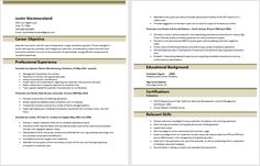 Assembly Line Worker Resume Delectable 20 Best Resumes Images On Pinterest  Cv Template Resume Templates .