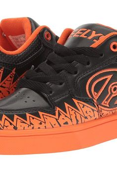 Heelys Motion Plus (Little Kid/Big Kid/Adult) (Black/Orange) Boy's Shoes - Heelys, Motion Plus (Little Kid/Big Kid/Adult), 770994H-053, Footwear Closed General, Closed Footwear, Closed Footwear, Footwear, Shoes, Gift, - Fashion Ideas To Inspire