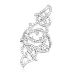 4de48006a Swarovski Women's Ring - Grace 7 Size Clear Crystal Rhodium-Plated Metal |  5094497