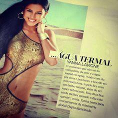 Blog Danafarma: Saiu na revista Corpo: Dica de beleza da atriz Yan...