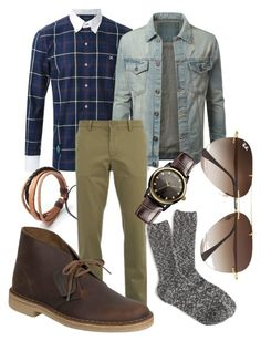 the new plaid by jeffrie-st-james on Polyvore featuring polyvore fashion style Guild Prime J.Crew Clarks Vivienne Westwood Ray-Ban Lacoste women's clothing women's fashion women female woman misses juniors