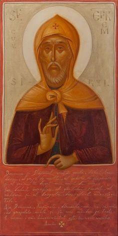 Ephraim the Syrian (Gabriel Toma Chituc). Byzantine Art, Orthodox Icons, Sacred Art, Religious Art, Gabriel, Christianity, Saints, Religion, Images