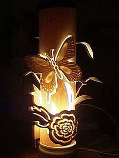 Делаем красивые 3-d светильники своими руками из обычной пвх-трубы