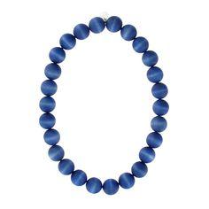 Aarikka Suomi Pond Blue Necklace
