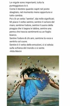 Italian Words, Spiritual Thoughts, Learning Italian, Wise Quotes, Feelings, Butterfly, News, Frases, Pictures