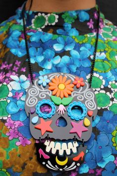 http://www.tattydevine.com/sugar-skull-large-necklace-black.html