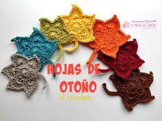 Inspírate en el otoño para tus trabajos de crochet