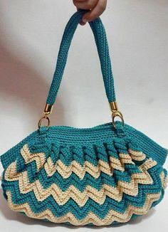 Stylish Easy Crochet: Crochet Handbag Easy Pattern