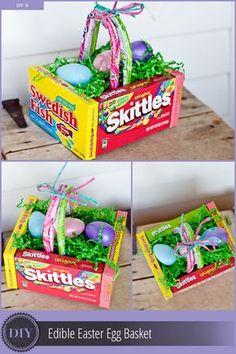 DIY BOX CANDY EASTER BASKET LINK: http://thekrazycouponlady.com/tips/family/diy-edible-easter-egg-basket/