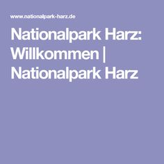 Nationalpark Harz: Willkommen | Nationalpark Harz