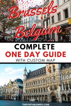 This Brussels itinerary 1 day includes the city's highlights like the Grand Place, home to Brussels Christmas market. Find out what to do in Brussels with a custom map to help you make the most of your Brussels Belgium walking tour. European Vacation, European Travel, Brussels Christmas, Peru, Amsterdam Travel, Brussels Belgium, Europe Travel Guide, Travel Advice, Adventure Travel