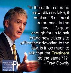 Trey Gowdy Quote