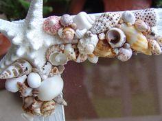 Coastal Cottage Chic Seashell & Starfish by seashellsbyseashore