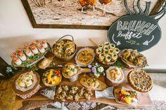BRUNCH BUFFET IN THE SALON | HeirloomLA - Brunch Buffet