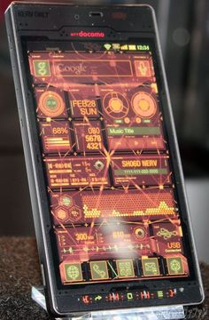 Sharp's Android-Based Evangelion Phone
