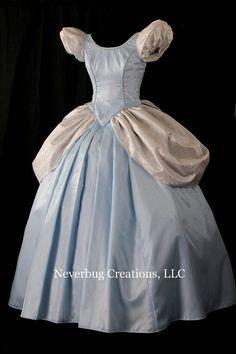 Cinderella Classic Custom Costume by NeverbugCreations on Etsy $900