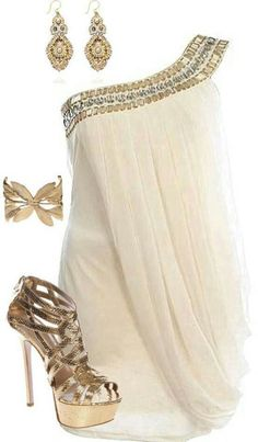 Cute. Romantic date night outfit