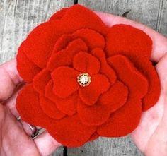 Felt Flower by SherryL