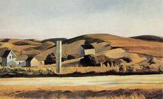 Edward Hopper - Road and houses