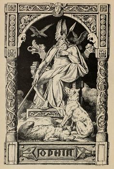 Odin (1880) Walhall: Germanische Götter- und Heldensagen für Alt und Jung am deutsche Herd erzählt (Felix Dahn) Shiko Librin