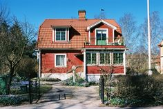 link to gallery Small Cottages, Cute House, Grey Bathrooms, Scandinavian Home, Little Houses, Home Fashion, House Colors, Sweet Home, Villa