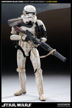 "Star Wars 12"" Sandtrooper Desert Sands Detachment"