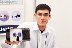 Pregopontocom Tudo: Estudante do Amazonas desenvolve óculos de realida...