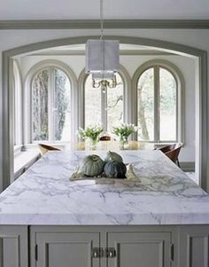 Choosing The Right Kitchen Counter Top. Marble CountersWhite Granite  CountertopsWhite ...