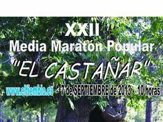 Inscríbete al Medio Maratón de El Castañar en El Tiemblo, Ávila