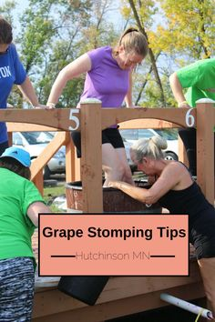 Ever since Lucille Ball was seen stomping grapes on an episode of I Love Lucy, Americans have fallen in love with the idea. Since grape stomp competitions have shown up at harvest time all over the…