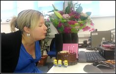 Happy Birthday Pauline (and your minions) from all of us in Cpl. Offices, Minions, Happy Birthday, Happy Brithday, The Minions, Urari La Multi Ani, Happy Birthday Funny, Desk, Minions Love