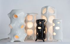 Ceramic Lighting Collection from ENTLER