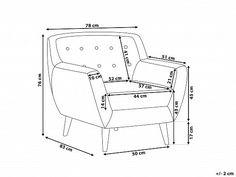 Csokoládébarna kárpitozott fotel - MOTALA_506001