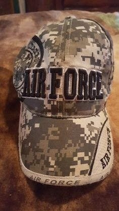 fd39b227f2e6b United States Air Force Camoflouge Ball Cap Baseball Hat  fashion  clothing   shoes  accessories  mensaccessories  hats (ebay link)
