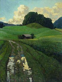 catonhottinroof: Eilif Peterssen (1982-1928) From Daelivannet | Windy Poplars Room | Bloglovin'