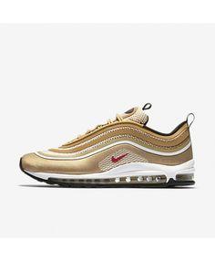more photos 53489 b8b8c Nike Air Max 97 Ultra  17 Metallic Gold Black White Varsity Red 918356-700