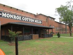 Monroe Cotton Mills Antique Mall - Largest in the Southeast! Monroe, Georgia!