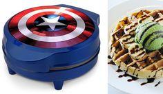 Nada más importa si puedes comer un waffle con la forma del escudo de Capitán América - Batanga