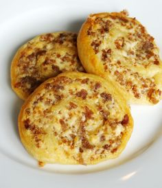 Sausage Cream Cheese Crescent Pinwheels