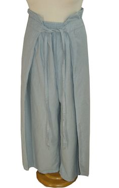 OH LA LA~Hose mit Cacheur von COCOM COMMERZ PRIVATSACHEN~Lagenlook green fashion slow fashion since 30 years hand dyed in hamburg silk cashmere wool cotton linen vintage look
