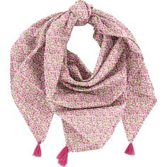 Foulard+pompon+jasmin+rose Liberty Of London, Range, Headscarves, Gifts 4b6d8caa43e