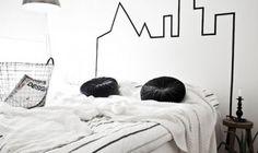 Lav et cool hovedgærde til sengen på 10 min.